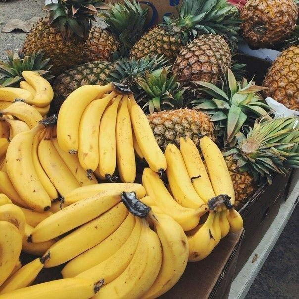 Ешь бананы, ананасы...