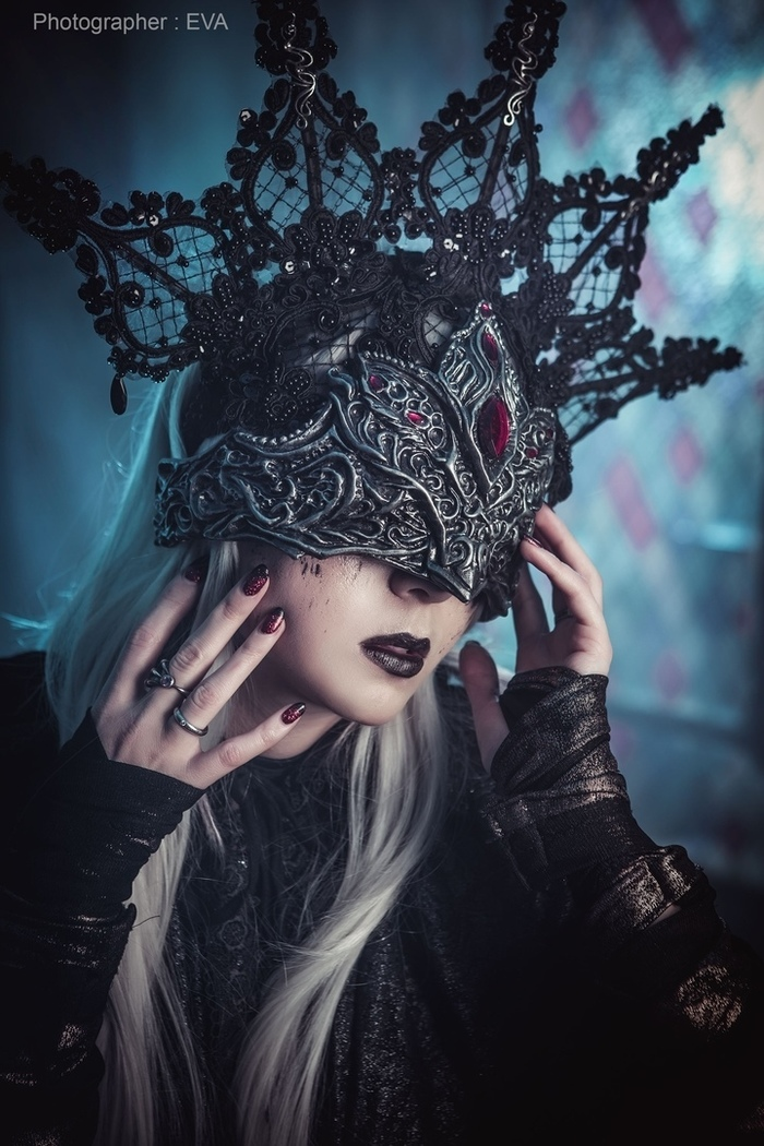 Fire Keeper from Dark Souls cosplay Fire Keeper, Dark Souls, Игры, Косплей, Мрачное, Девушки, Длиннопост, Русский косплей