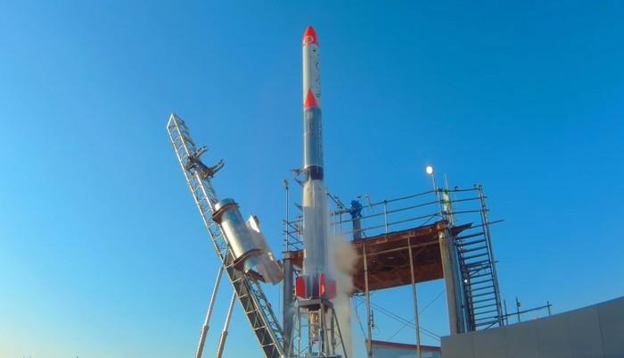 Interstellar Technologies запустил суборбитальную ракету Космос, Ракета, Япония, Океан, Видео, Длиннопост