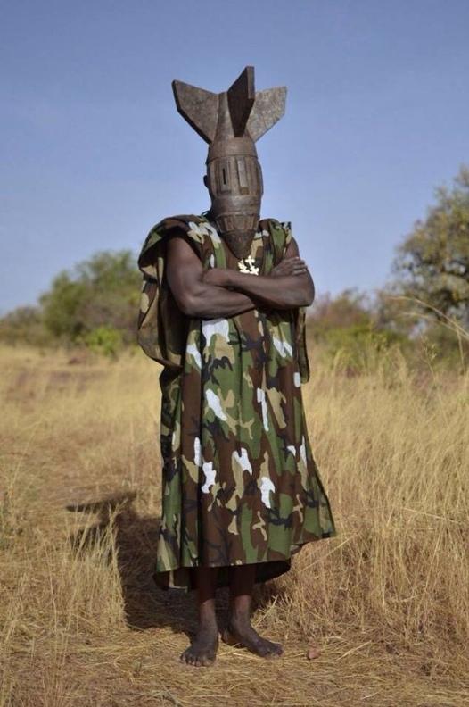 Маска OBU. Фотография, Маска, Африка