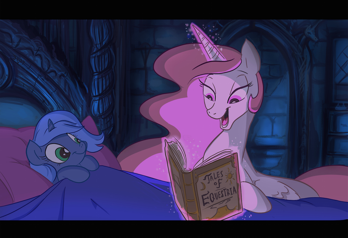 Tale As Old As Time My Little Pony, Princess Luna, Princess Celestia, Jowybean