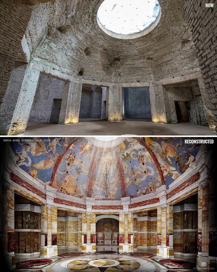 Как это выглядело Археология, Руины, Реконструкция, Утраченное величие, Длиннопост