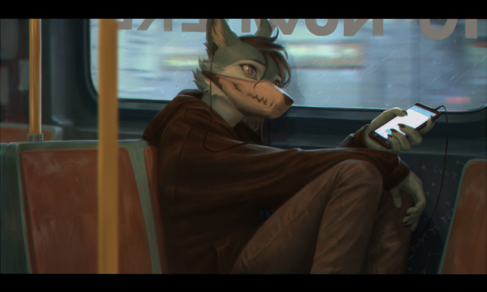 Wires Фурри, Furry Art, Furry Fox, Terry Grimm
