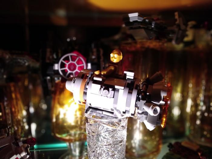 Родительский сервант, Звездные войны и преемственность традиций. Star Wars, LEGO, Вдохновение, Традиции, Коллекционирование, Наследство, Интерьер, Длиннопост