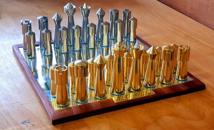 Выточенные шахматы Шахматы, Reddit, Рукоделие без процесса, Фрезеровка, Металлообработка, Ручная работа, Токарка, Подарок