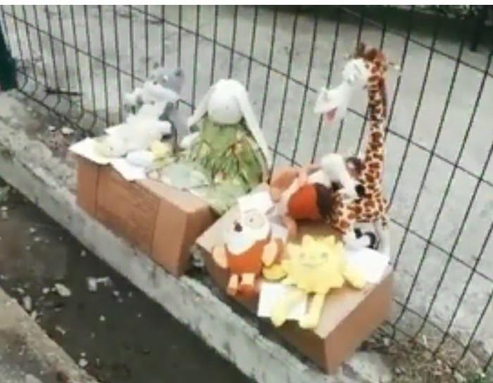 Во Владивостоке дети вышли продавать игрушки, потому что в семье нет денег Владивосток, Дети, Игрушки, Продажа, Задержка зарплаты, Видео, Длиннопост, Без рейтинга, Негатив
