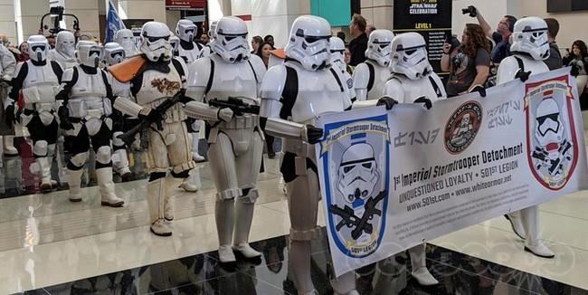Star Wars cosplay from 4 may Косплей, Костюм, Звездные войны: изгой один, Star Wars, Штурмовик, Повстанец, Хан Соло, Длиннопост