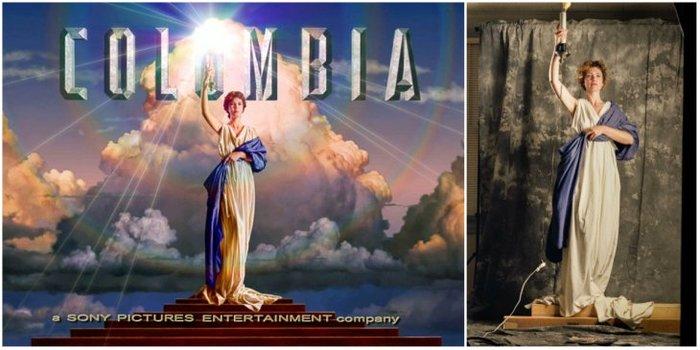 История логотипа Columbia Pictures Columbia pictures, Логотип, Длиннопост