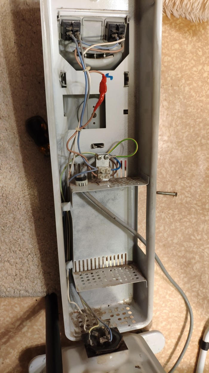 Поделитесь опытом - как отремонтировать регулятор мощности на масляном радиаторе? Я у мамы инженер, Радиатор, Ремонт техники, Регулятор напряжения, Длиннопост