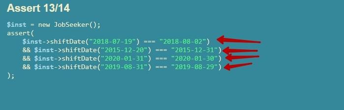 Опечатки в заданиях на вакансию PHP-разработчика Опечатка, PHP, Тест