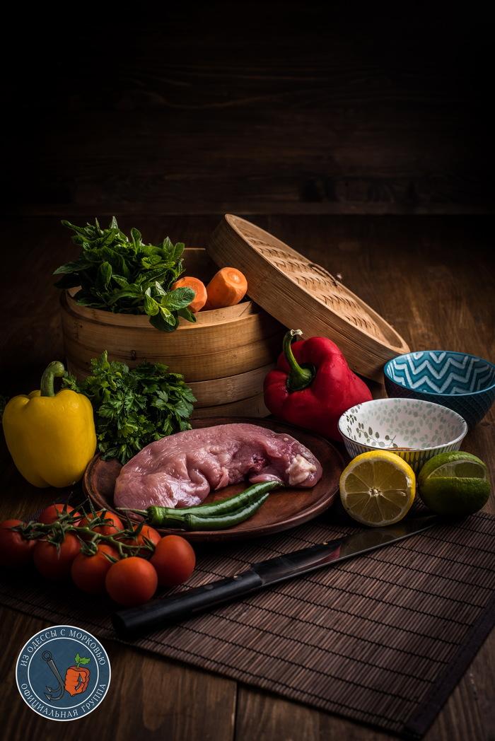 Салат: «Далай Лама в отпуске» Из Одессы с морковью, Кулинария, Еда, Длиннопост, Рецепт, Фотография, Салат