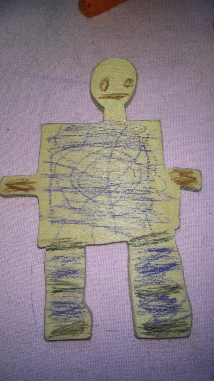 Я конечно не 3D моделист и не художник, но... Фанера, Лобзик, Дети