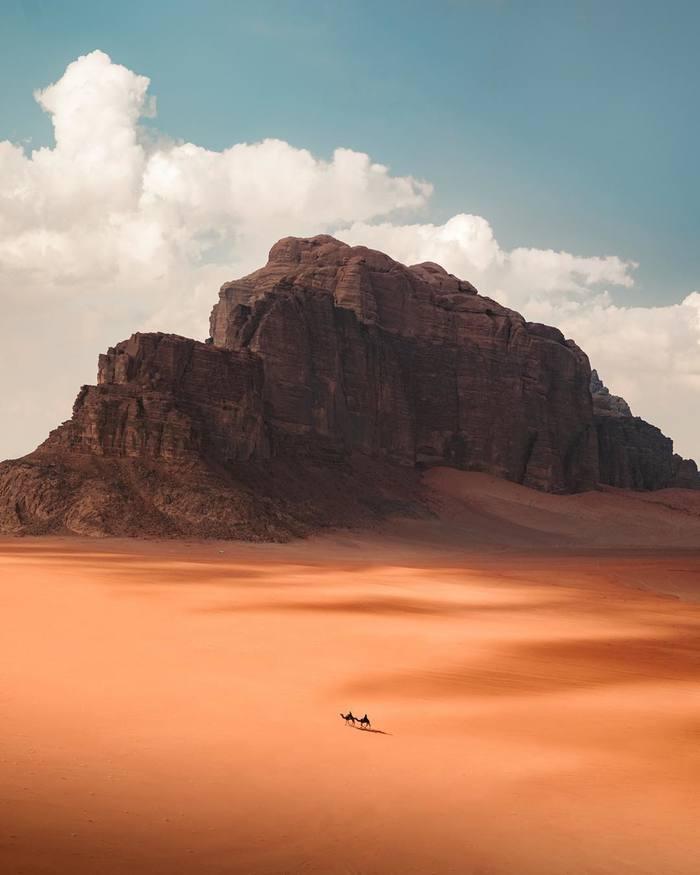 Иордания Красота, Фотография, Красота природы, Иордания, Скалы, Пустыня, Длиннопост