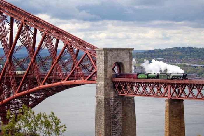 Наверное, в Хогвартс Шотландия, Летучий шотландец, Железная дорога, Поезд