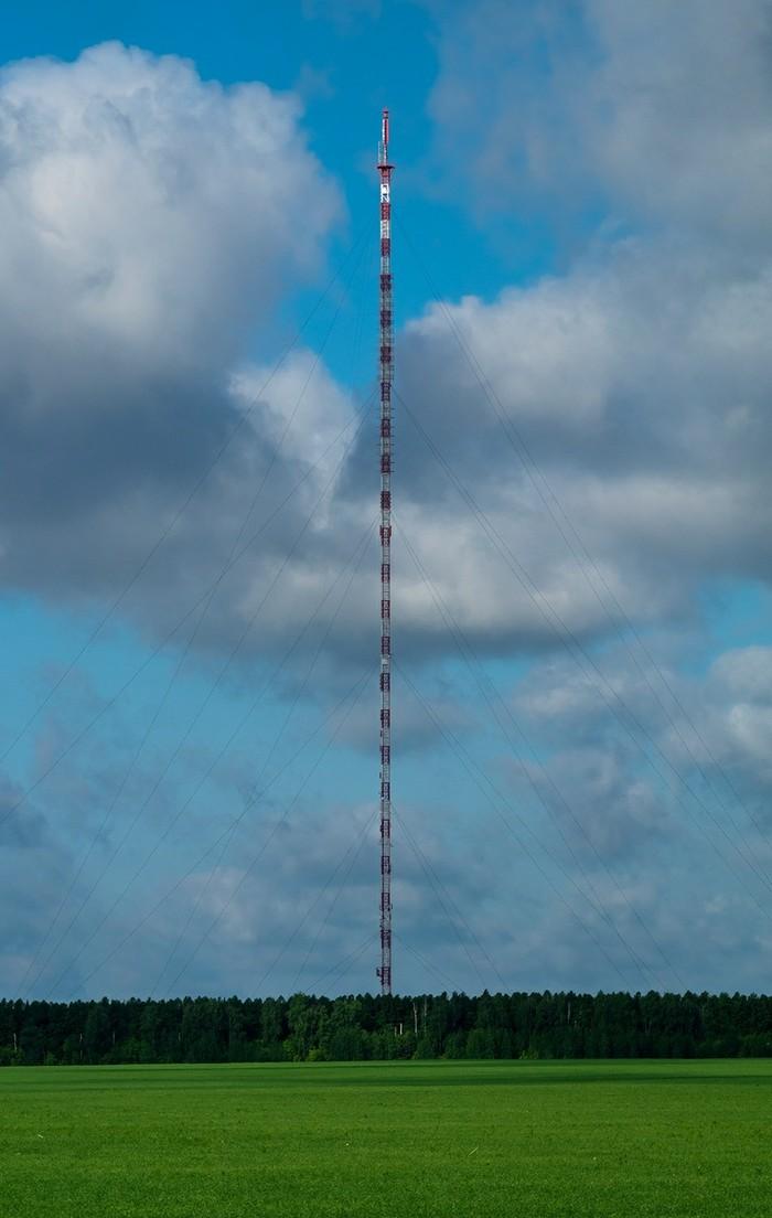 Радиотелевизионная мачта (г. Липецк) Фотография, Телевышка, Вышка, Липецк, Sony a58, Minolta 100-300