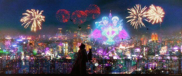 Cyberpunk North Korea. Neo-Pyongyang 2049 Северная Корея, Киберпанк, Пхеньян, Длиннопост