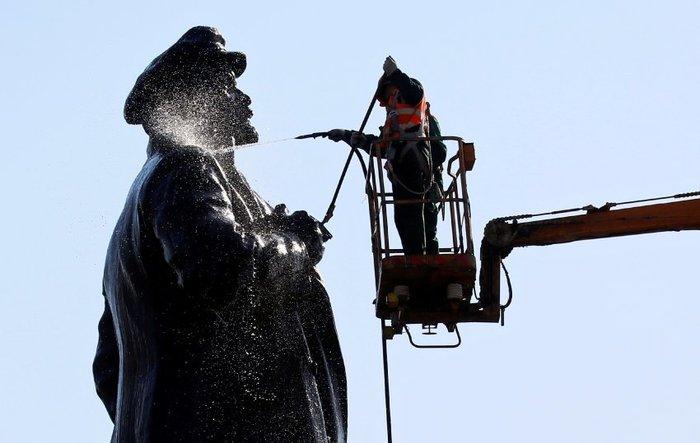 Чистый Ленин Ленин, Памятник ленину, Памятник