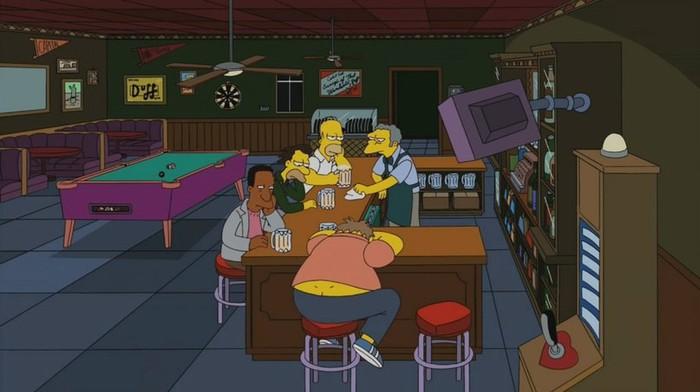 Симпсоны на каждый день [12_Мая] Симпсоны, Каждый день, Алкоголь