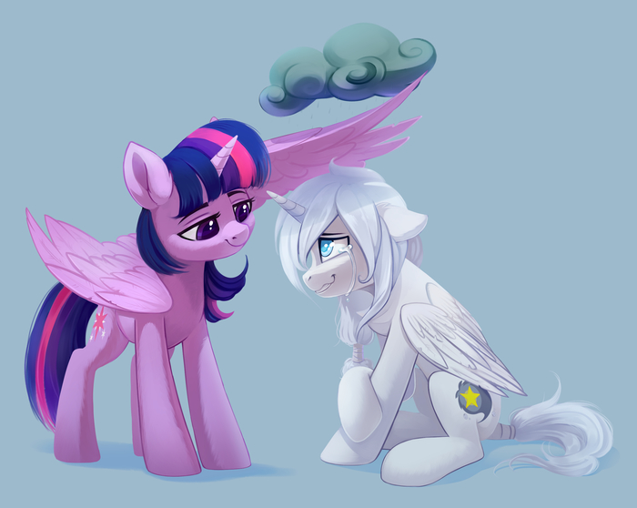 Twilight Is Caring My Little Pony, Twilight Sparkle, Original Character, Taneysha