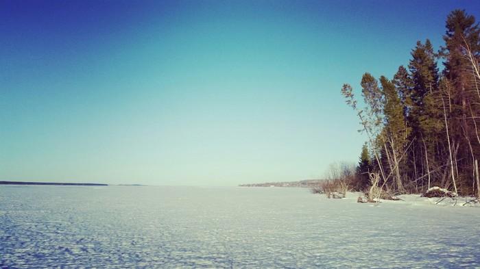 Весенняя река Обва, Весна, Река