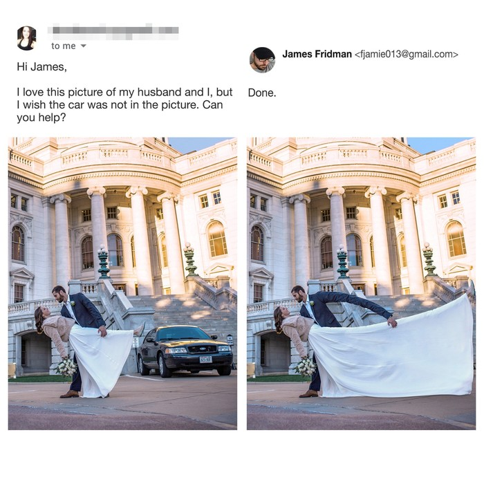 Авто Джеймс Фридман, Фотошоп мастер, Авто