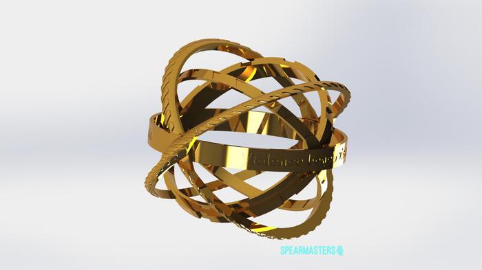 Кольцо не 16 века V2 Кольцо, 3D печать, Длиннопост