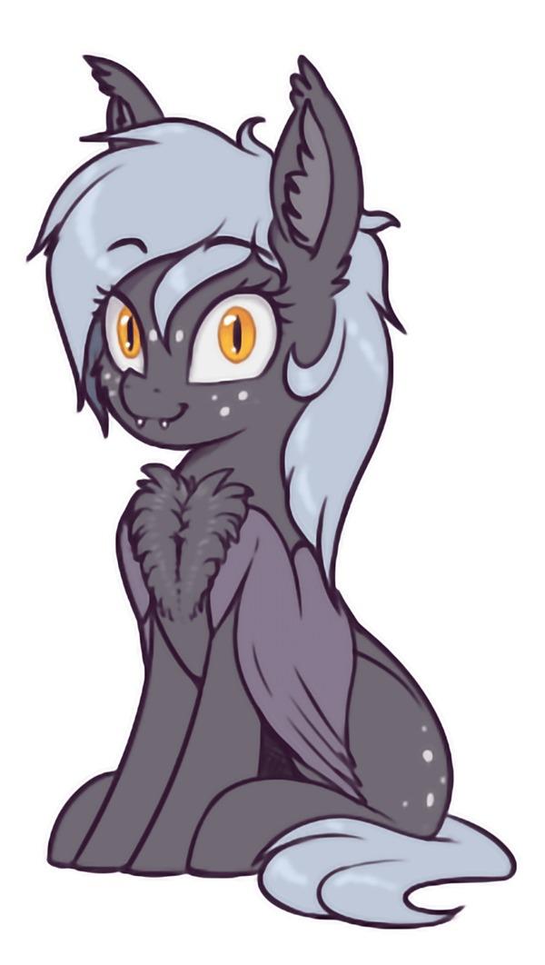 Floof My Little Pony, Original Character, Batpony, Сердечко, Shydale, Гифка, Длиннопост