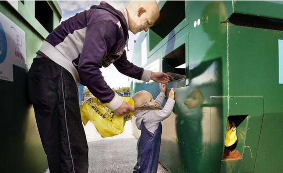 Переработка мусора в швеции технология