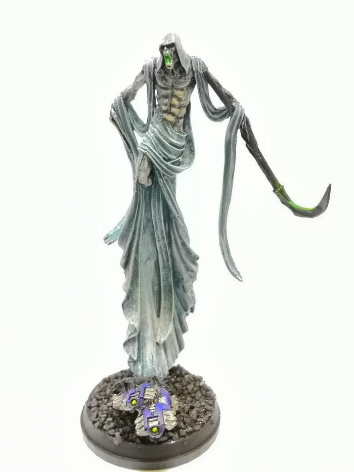 Осколок К'Тан Несущего Тьму. Покраска миниатюр, Necrons, Warhammer 40k, Длиннопост