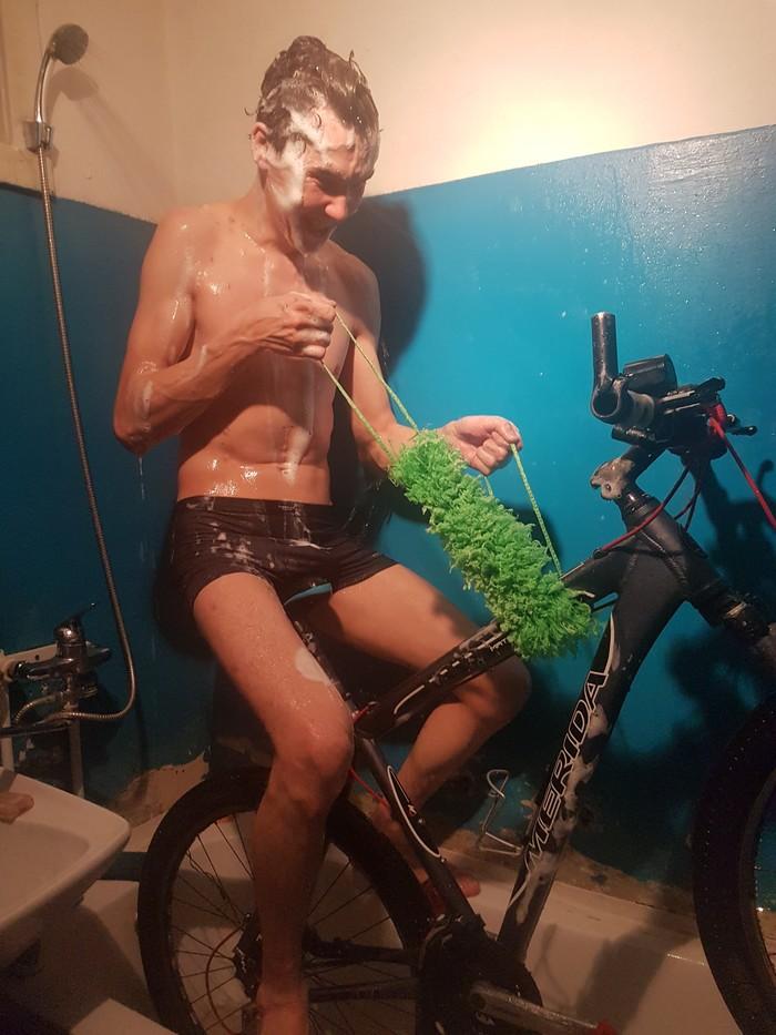 Как мыть велосипед