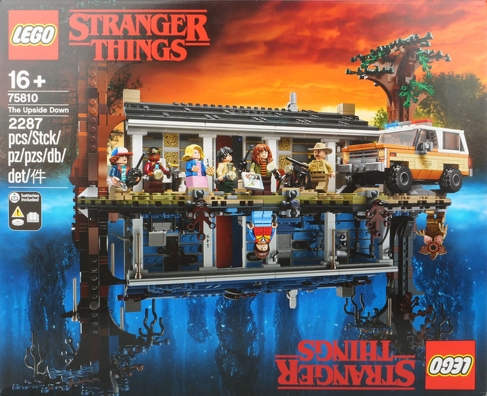 LEGO Stranger Things 75810 The Upside Down LEGO, Очень странные дела, Netflix, Длиннопост