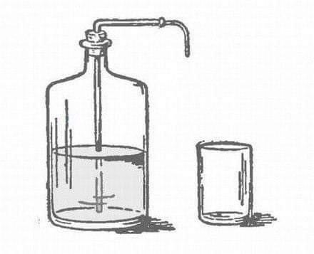 #МОЗГОЛОМ. Как из этой бутылки налить в стакан воду, не вынимая пробки и не наклоняя бутылки?