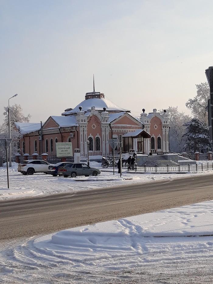 Немного зимы в ленту. Тобольск, Сибирь, Зима, Красота, Длиннопост