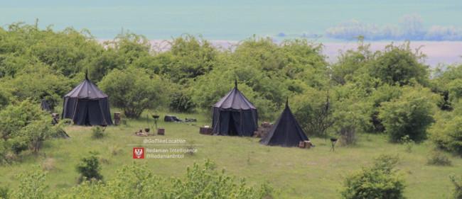 Фотографии лагеря Нильфгаарда со съёмок сериала Ведьмак Ведьмак, Зарубежные сериалы, Netflix, Нильфгаард, Новости, Длиннопост