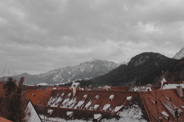 Тоска по горам Фотография, Горы, Европа, Старый город, Фюссен, Германия, Canon 600D, Canon