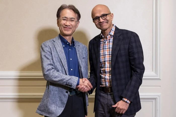 Sony и Microsoft объявили о стратегическом партнёрстве в области ИИ и облачногогейминга Playstation, Nintendo, Microsoft