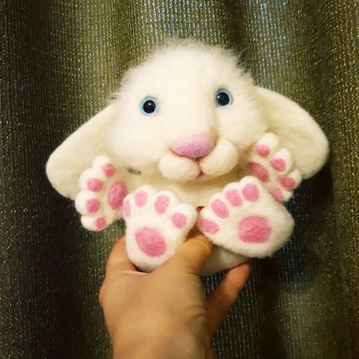 Сваляла зайца :)