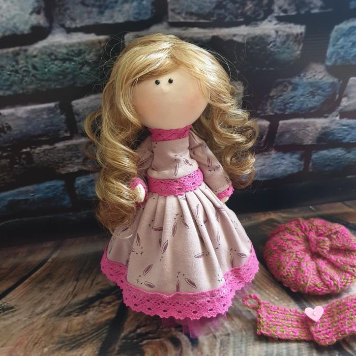 Куколка в биретике Кукла, Ручная работа, Авторская игрушка, Своими руками, Рукоделие без процесса, Рукоделие с процессом, Длиннопост
