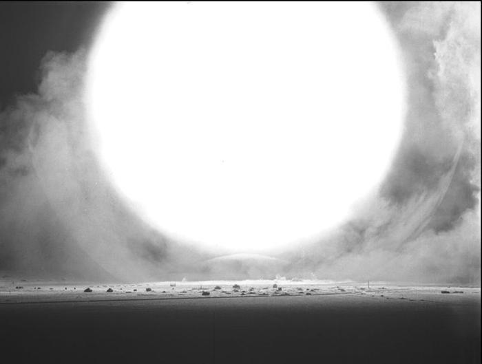 За секунду до Ядерное оружие, Ядерный взрыв, Старое фото, Фотография, За секунду до