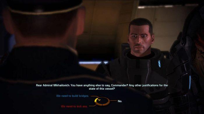 Диалоги в Mass effect Mass Effect, Колесо, Игры