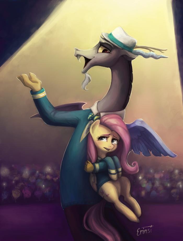 Дуэт My Little Pony, MLP Discord, Fluttershy