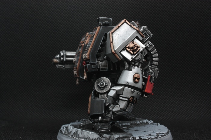 Машина праведного очищения Длиннопост, Warhammer 40k, Хобби, Миниатюра, Покраска миниатюр