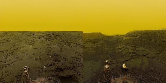 Негостеприимная соседка Земли Космос, Земля, Венера, Длиннопост, Фотография