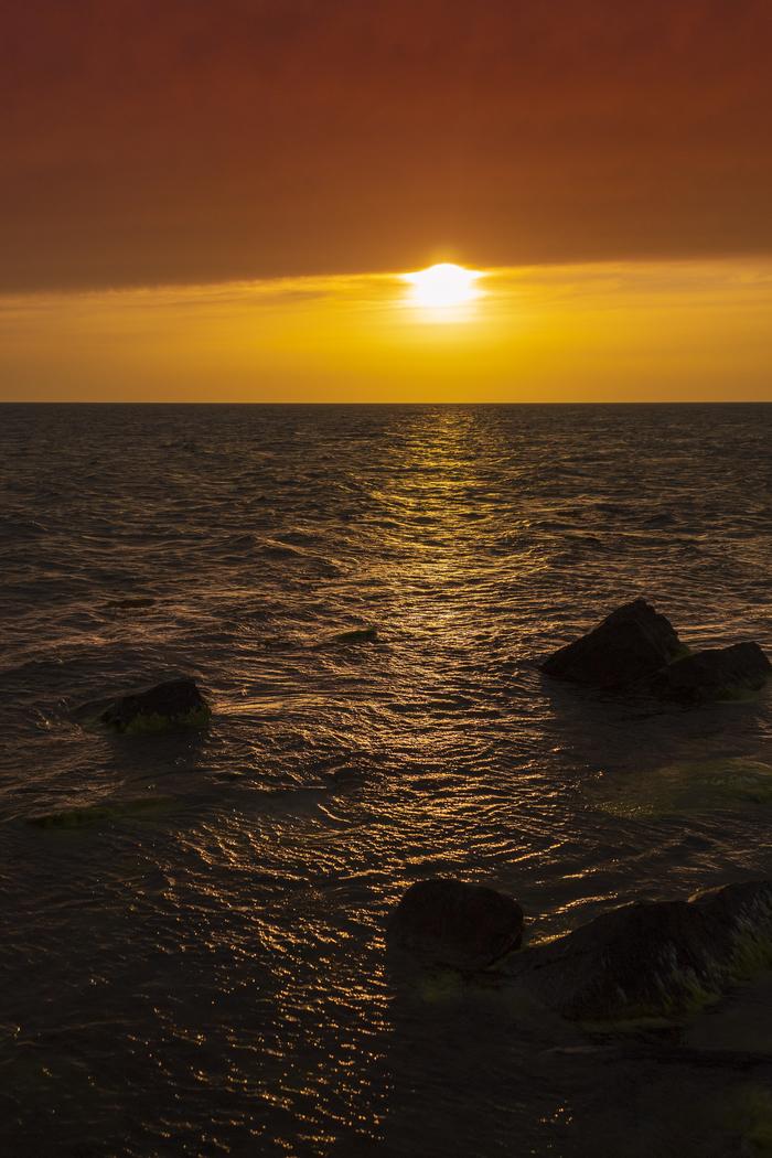 Дорога к солнцу Закат, Солнечная дорожка, Море, Начинающий фотограф, Canon 4000d