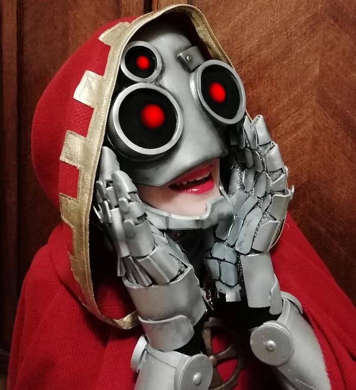 Техножрица Иварелла (косплей) Warhammer 40k, Gray-Skull, Adeptus Mechanicus, Косплей, Комиссар Райвель, Warhammer