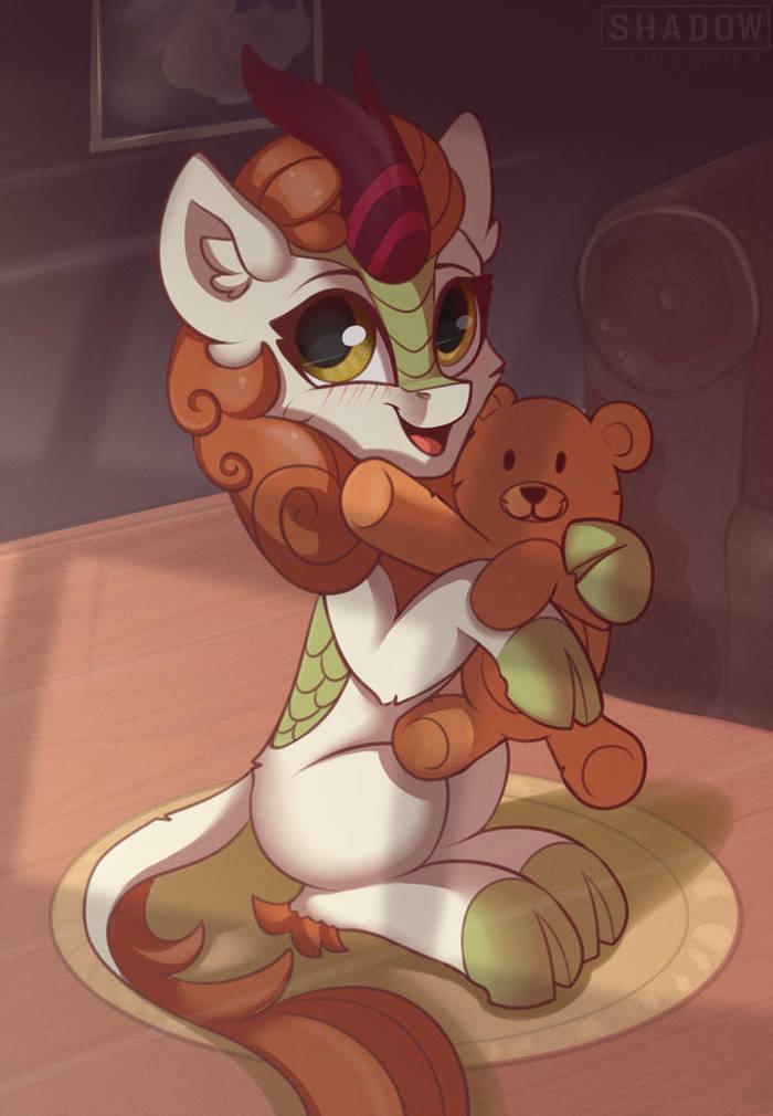 Кириняшинг My Little Pony, MLP Kirin, Autumn Blaze, Shadowreindeer