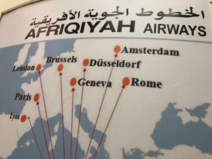 Всё равно все на севере Авиация, Африка, Карта мира, Авиалинии