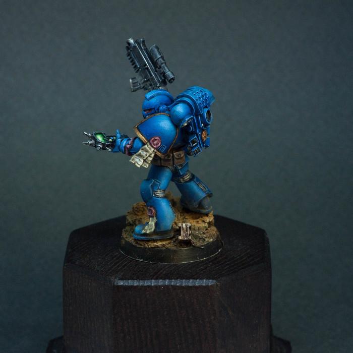 Классический космоморячок Warhammer 40k, Космодесант, Miniatures, Painted miniatures, Видео, Длиннопост