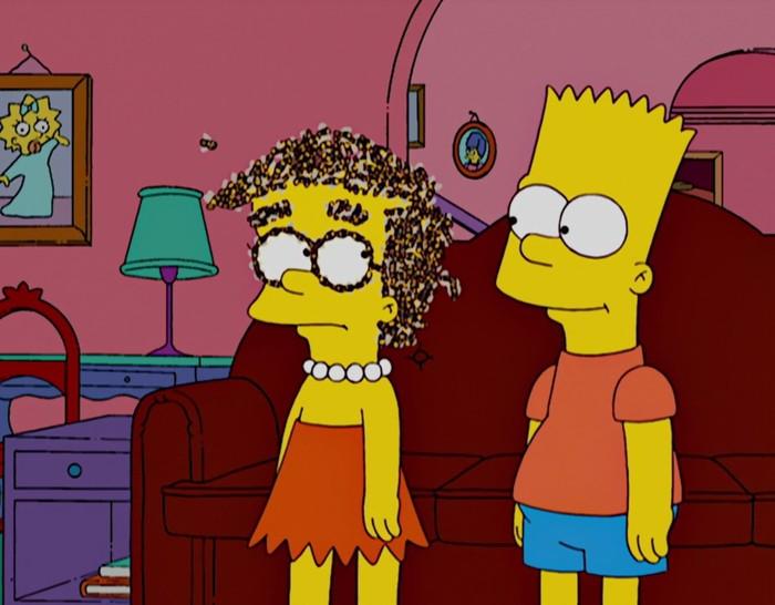 Симпсоны на каждый день [20_Мая] Симпсоны, Каждый день, Пчелы, Праздники, Гифка, Длиннопост