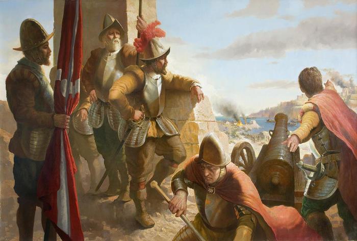 «Осада, в которой удача подвела Сулеймана». Как Османская империя пыталась захватить Мальту — но не смогла. Турки, Испанцы, Осада, Мальта, История, Длиннопост